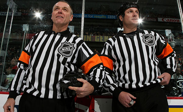 Two NHL Referees