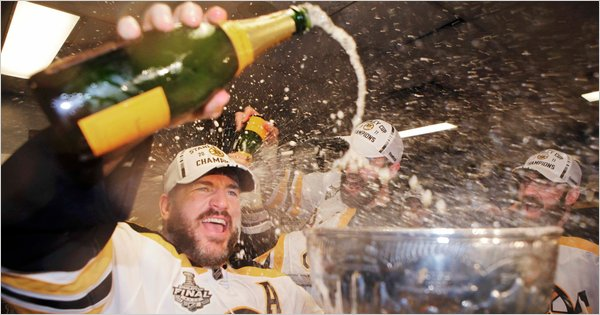Boston Bruins Cup Celebration