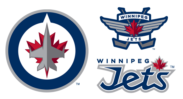 New 2011 Winnipeg Jets logos
