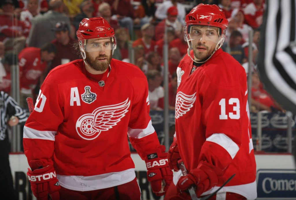 henrik zetterberg pavel datsyuk red wings